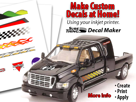 Make custom decals for scale models using decal maker software